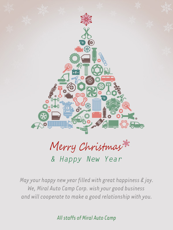 Miral Auto Camp - Merry Christmas & Happy New Year