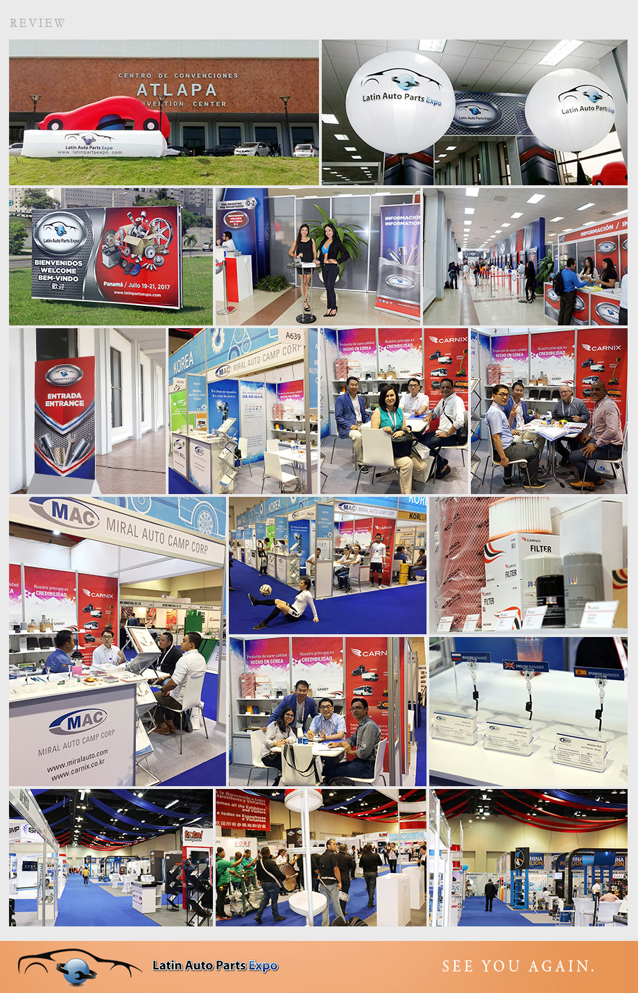 Review of Latin Auto Parts Expo 2017 - Miral Auto Camp Corp